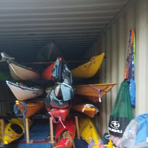 Manhattan Circ, October 1-2, 2016: Kayak prep