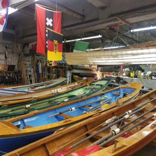 Manhattan Circ, October 1-2, 2016: A break in the Village Community Boathouse