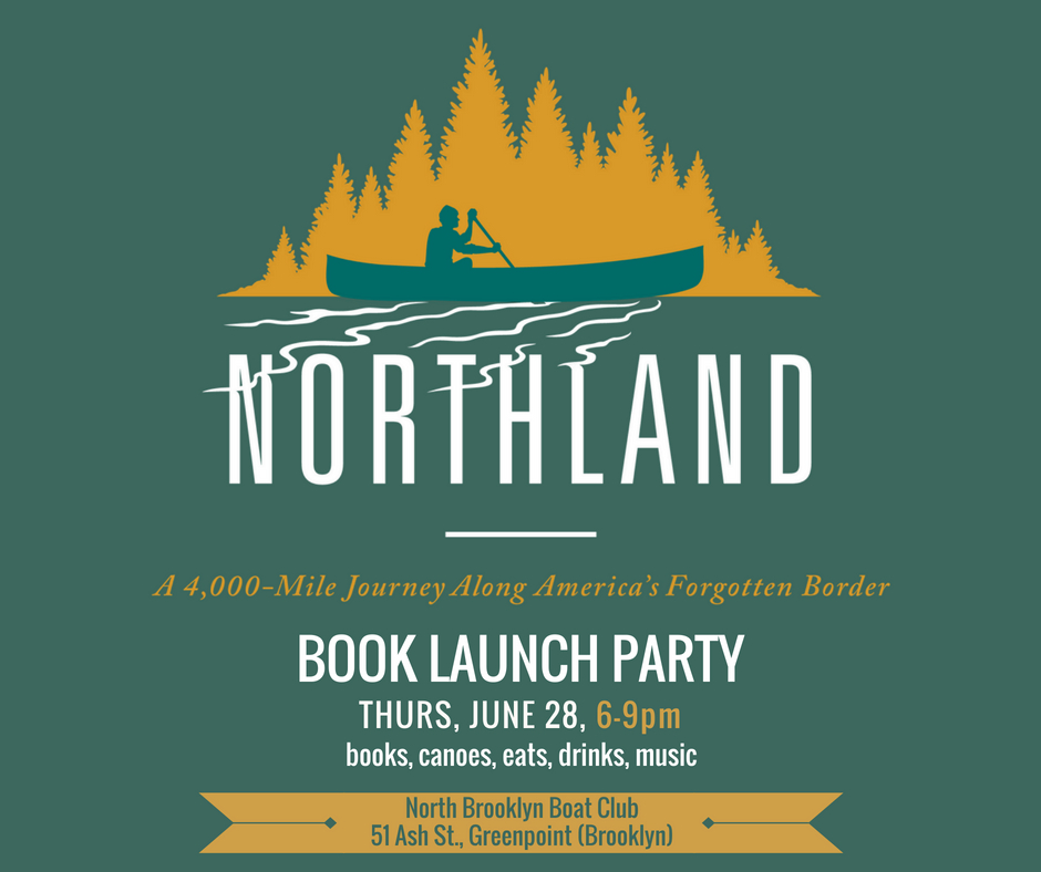 Book luanch party for Porter Fox's Northland at NBBC, June 28, 6 PM to 9 PM