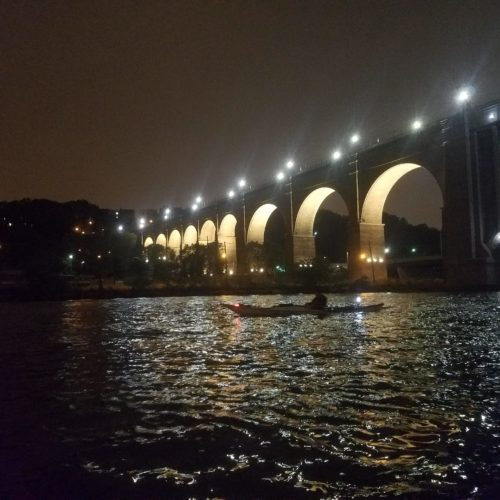 Manhattan Circ, October 1-2, 2016: High Bridge, Harlem River