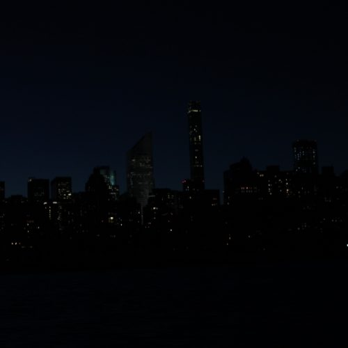 City Lights Roosevelt Island Circ, August 29, 2016