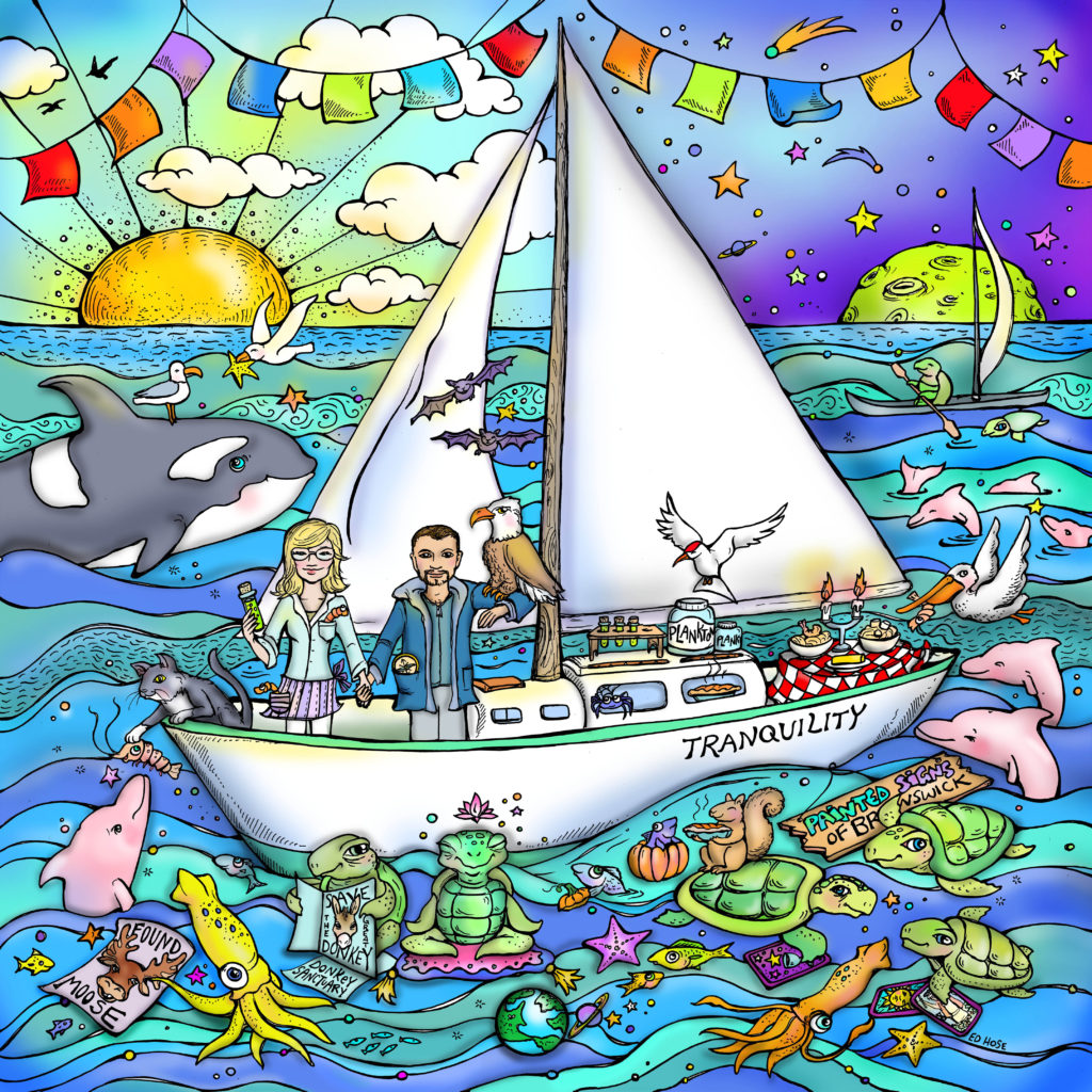 How to Sail Away from It All: Kate & Fabio's Big Adventure