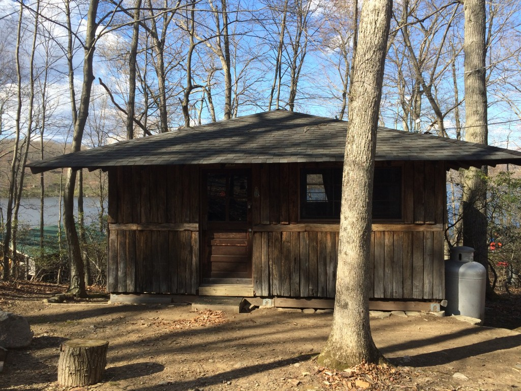 NBBC Cabin at the ACA Camp at Lake Sebago in Harriman State