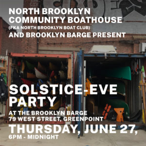 Raindate Solstice Party poster